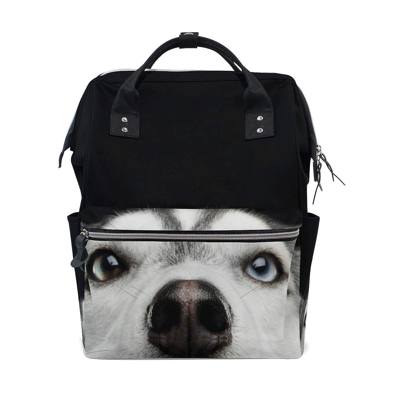 Funny Husky Dog School Backpack Large Capacity Mummy Bags Laptop Handbag Casual Travel Rucksack Satchel For Women Men Adult Teen Children