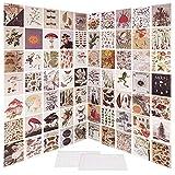 ABSDON 70 Pcs Collage de Pared Colección de Fotos para Decoración Pared Habitación Dormitorio Patrones Diferentes