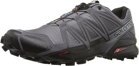Salomon Men's Speedcross 4 Trail Running Shoes, Dark Cloud/Black/Pearl Grey, 11.5