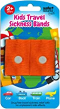 Safe and Sound Travel Sickness Bands for Ages 2+. Colour Received Will Vary. 2 Per Pack