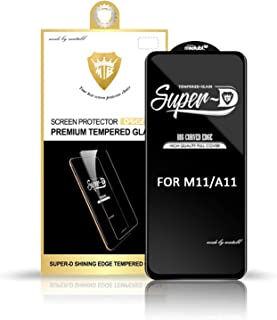 2 Pack Screen Protector for Samsung Galaxy M11 / Samsung Galaxy A11, [Full Coverage] Tempered Glass Film for Samsung Galax...