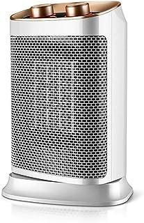 Moolo Calefactores Mini Calentador Eléctrico, Radiador de Cerámica Térmica Termo Cerámica Portátil Compacto, Portátil, 3 Segundos, Calefacción Rápida (Blanco, 400 W)