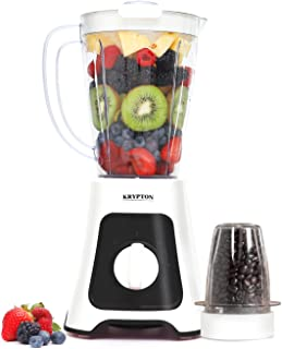 Krypton 400W Blender, 2 In 1 with 1.5L Jar – Powerful Copper Motor with 2 Speed Mode & Pulse Function - Crusher, Grinder, ...