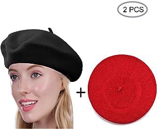a9a6b9197320c Amazon.com  Multi - Berets   Hats   Caps  Clothing