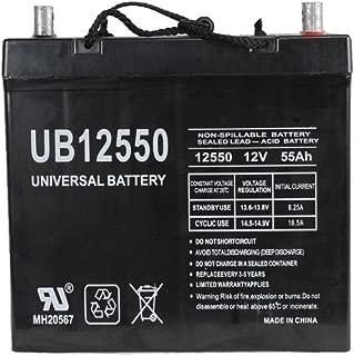 Universal Power Group 12V 55Ah Pride Hurricane Pursuit TSS 450 Power Chair Battery