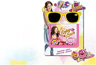 Soy Luna Disney Gift Set Sunglasses Gafas de Sol + Wallet Enjoy Love Original