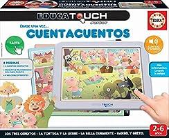 Educa - EducaTouch Junior: Érase una Vez… Cuentacuentos 2, con música y canciones, juego educativo para niños, a partir...