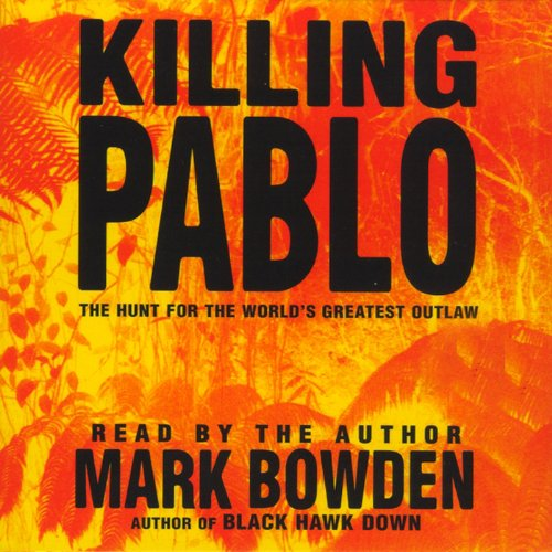Killing Pablo audiobook cover art