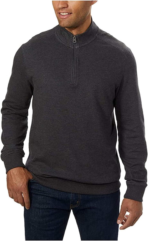 English Laundry Men's ¼ Zip Pullover