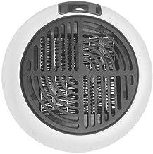 GPFDM Calentador Eléctrico Redondo Mini Calentador De Ventilador Hogar Colgante De Pared Práctico Calentador De Radiador Máquina 900 / 600W,Whiteus,900W