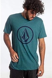 Camiseta Volcom Circle Stone Verde