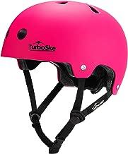 TurboSke Skateboard Helmet, BMX Helmet, Multi-Sport Helmet, Bike Helmet for Kids, Youth, Men, Women