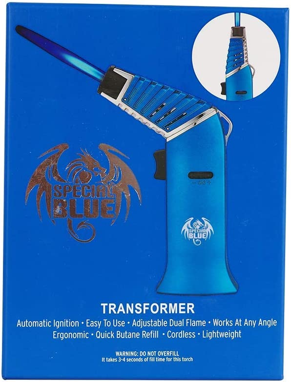 Special TRANSFORMER Flame Torch 1ct Black