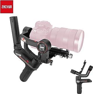 Zhiyun Weebill S 3-Ejes Estabilizador Gimbal para DSLR Cámara sin Espejo Nikon Z6 Sony A7M3/R3 Panasonic GH5 Versión de Actualización Tamaño de Papel A4 14h de Trabajo Pantalla OLED Conjunto Estándar