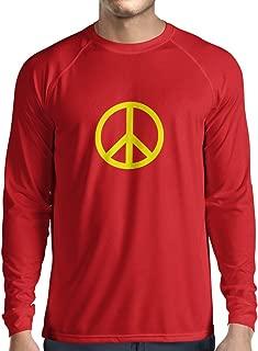 Men's T-Shirt Peace Love Hippie Sign 60s 70s Style, Hippy Symbol