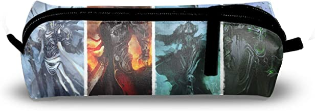 Dark Four Horsemen of The Apocalypse Student's Pencil Holders Case Bag Coin Purse Pouch Stationery Bag
