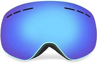 Aooaz Magnet Ski Glasses Large Field Snow Glasses Adult Outdoor Anti Fog Ski Glasses