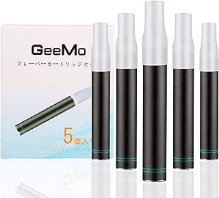 プルームテック Ploom TECH 互換 カートリッジ 無味無臭 電子タバコ カプセル 対応可能 アトマイザー 5本セット マウスピース5個付 GeeMo
