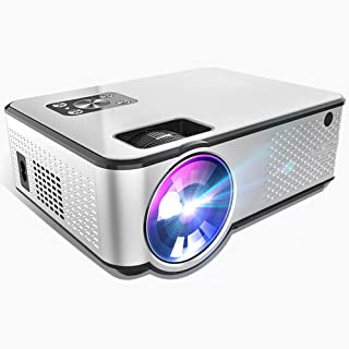 Projector Home Theater, 1280 * 720P Hd Projector, Support 1080P, 130-Inch Large Screen, 20° Trapezoidal Correction, Vga Us...