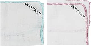 Ecotools Cruelty Free and Eco Friendly Polishing Facial Cloths; Made with Recycled and Sustainable Materials