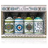 La Tasse Hand Soap, 4-pack Scents: (1) Sweet Orange, (1) Gardenia, (1) Creamy Coconut, (1) Beach, 21.5 FL OZ Each