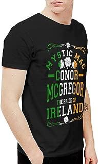 Mens Particular Conor McGregor UFC Ireland T Shirts and Washed Denim Hat Casquette Black
