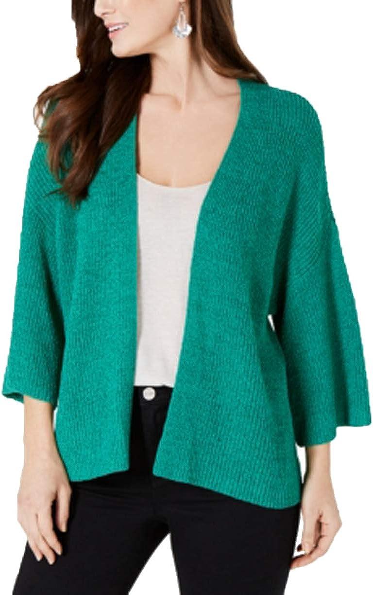 Style & Co. Women Size XL Green Cardigan Sweater