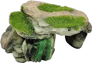 FLAMEER Nowość sztuczny żółw gadów kryjący żywica materiał jaskinia akwarium ornament Aqurium podwodna rzeźba krajobraz uk...
