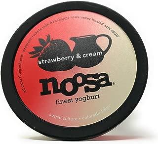 Noosa, Yoghurt Tandem Strawberry And Cream, 7 Ounce