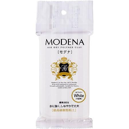 パジコ 樹脂粘土 モデナ 250g ホワイト 日本製 303109