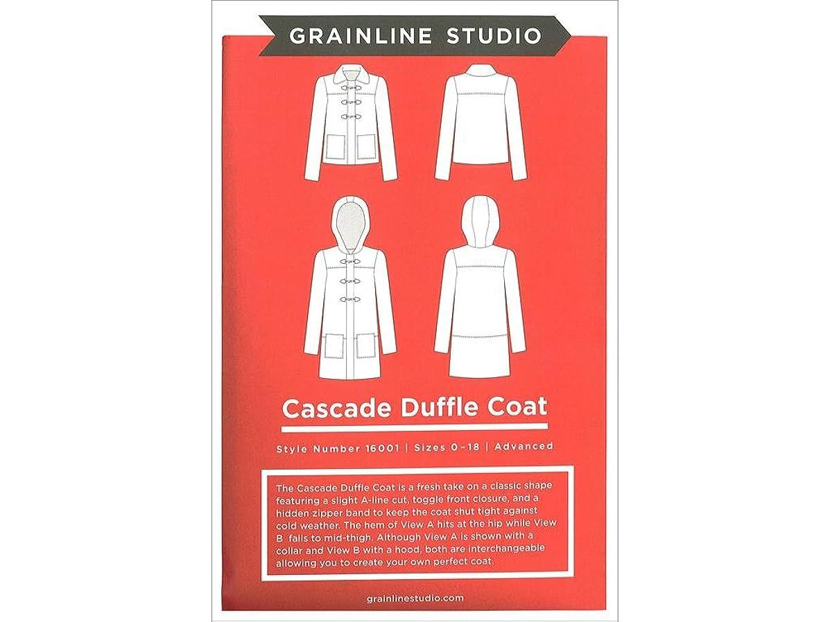 Grainline Studio Cascade Duffle Coat Ptrn