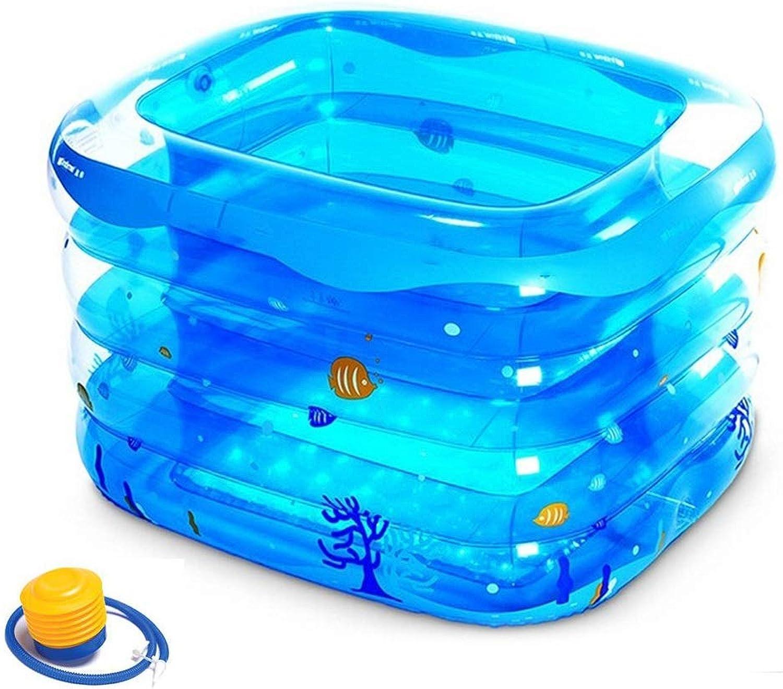 Aufblasbare badewanne kind baby kinderbadewanne familie baby pool toys baby bad toys baby schwimmwanne (Größe   A)
