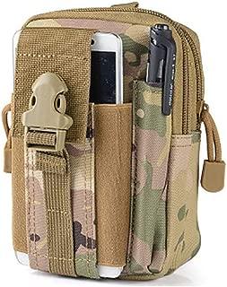 Outdoor Tactical Waist Pouch Security Purse Belt Waist Bag Phone Carrying Case