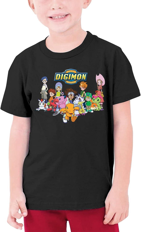 Digimon Shirt Girls Boy Casual Tee Shirt Short Sleeve Top Teenage Graphic T Shirt