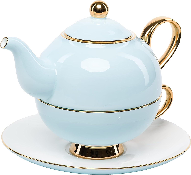 Tea for one – 11.5 oz 340 Financial sales sale teapot lid with set Trust ml 8.8