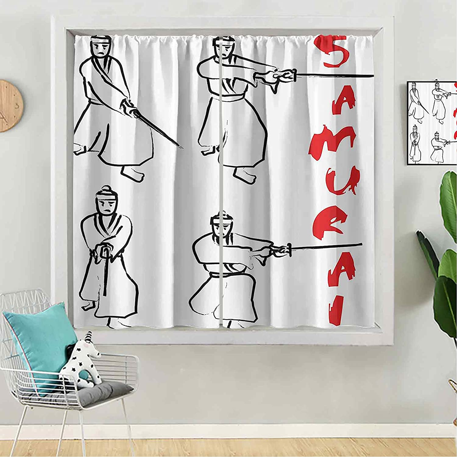 Blackout Curtain Baltimore Mall 72 inches Long Panel famous Window B Kids for