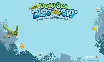 Outdoor Banner (Vacation Bible School (VBS) 2016: Deep Sea Discovery God Is with Me Wherever I G)