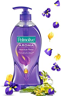 Palmolive Aroma Absolute Relax Body Wash, Gel Based Shower Gel with 100% Natural Ylang Ylang Essential Oil & Iris Extracts...
