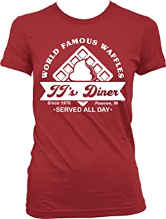 NOFO Clothing Co JJ's Diner, World Famous Waffles Juniors T-Shirt