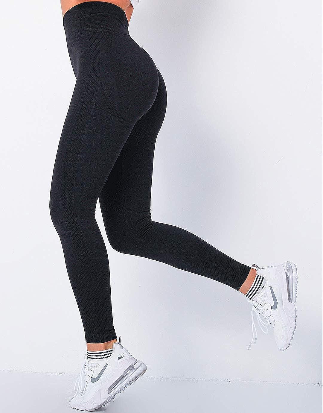 MANIFIQUE Seamless Leggings for Women Butt Lift High Waist Yoga Pants