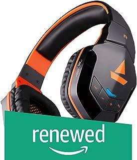 (Renewed) boAt Rockerz 510 Wireless Bluetooth Headphones (Molten Orange)