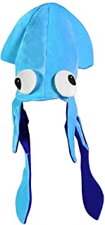 Funny Party Hats Squid Hat - Funny Fun and Crazy Hats in Many Styles