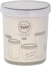Lock & Lock Twist Food Container 1000ml White