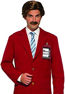 Forum Novelties Inc - Anchorman Wig & Moustache