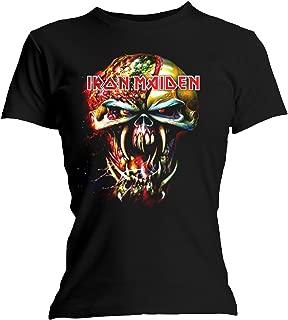 Iron Maiden T Shirt Final Frontier Eddie Head Official Womens Junior Fit