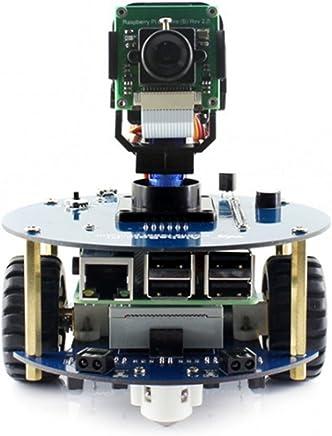 Wendi, kit per costruire il tuo robot AlphaBot2, ideale per Raspberry Pi 3 Modello B con RPI3 B, scheda madre AlphaBot2-Base, fotocamera RPi (B), ecc. - Trova i prezzi più bassi