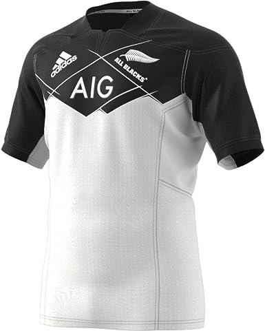 Amazon.com: adidas All Blacks 16/17 Away Rugby Jersey : Sports ...