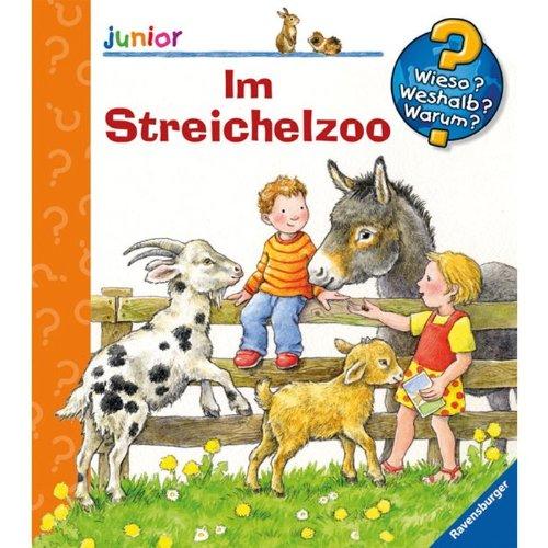 Ravensburger 02748 WWW Junior WWWjun 35 Im Streichelzoo