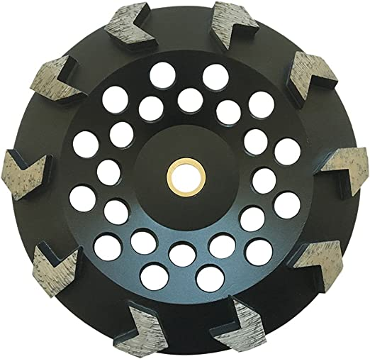 """Paint Megatron 5/"""" Diamond Cup Grinding Removing Disc Wheel for Any Concrete Ep"""