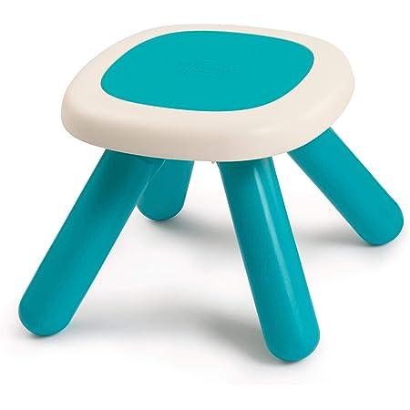 Smoby - Kid Tabouret - Mobilier pour Enfant - Dès 18 Mois - Intérieur et Extérieur - Bleu - 880204